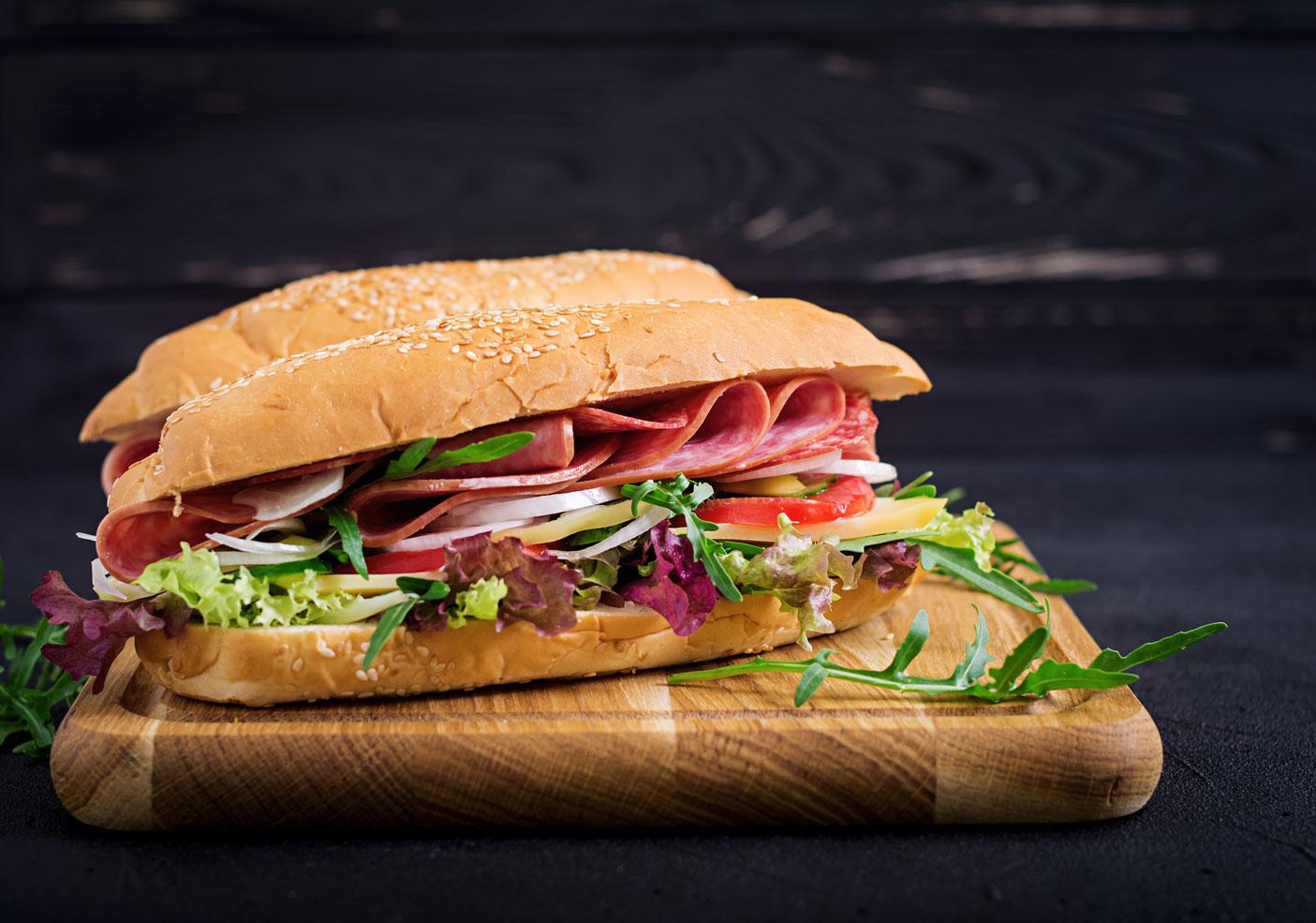 sandwich πρέβεζα